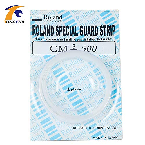 1 piece 1.6M/1600MM Length x 8mm Width Cutting Plotter Protection Guard Strip Roland Mimaki Graphtec Vinyl Cutter by Congo Plaxika (Image #1)