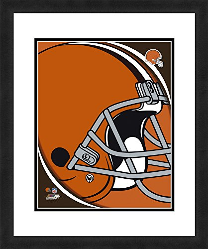 "NFL Cleveland Browns Logo, Beautifully Framed and Double Matted, 18"" x 22"" Sports Photograph"