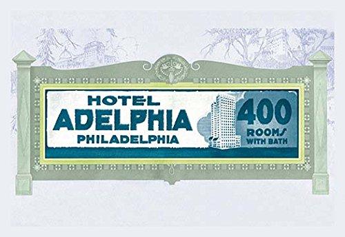 "Buyenlarge 0-587-13282-5-P1827 ""Hotel Adelphia, Philadelphia"" Paper Poster, 18"" x 27"""