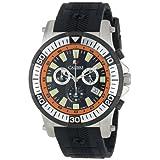 Calibre Men's SC-4H2-04-007.079 Hawk Chrono Analog Display Quartz Black Watch
