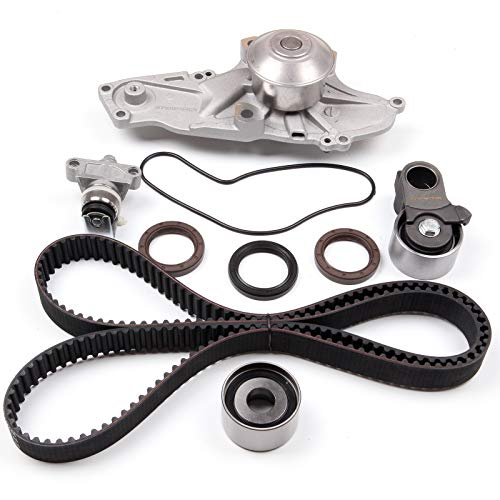 ECCPP Timing Belt Water Pump Kit Fit for 1997 1998 1999 2000 2001 2002 Acura Honda 3.0 3.5L J30A1 J35A1 (Belt Timing Odyssey 2000)