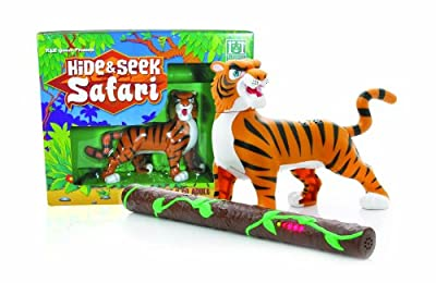 Hide And Seek Safari -tiger from R&R Games