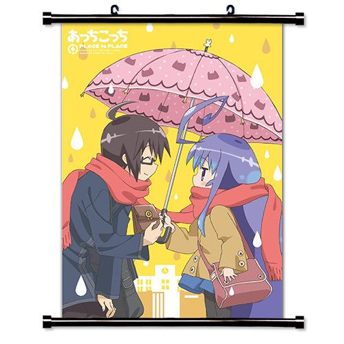 Acchi Kocchi Fortune Anime Fabric Wall Scroll Poster Wp Acchi-3 L