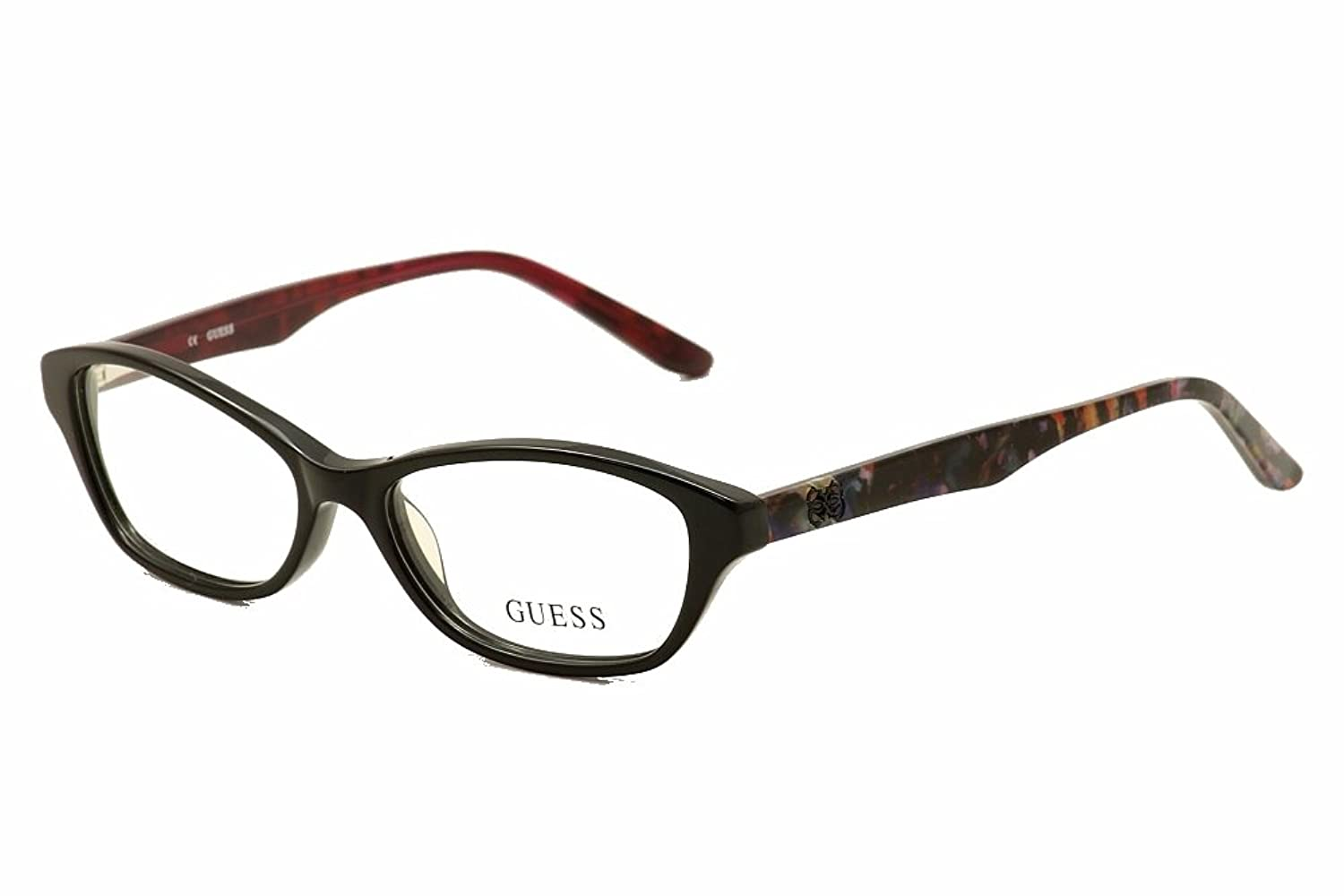 Amazon.com: GUESS Eyeglasses GU 2417 Black 52MM: Clothing