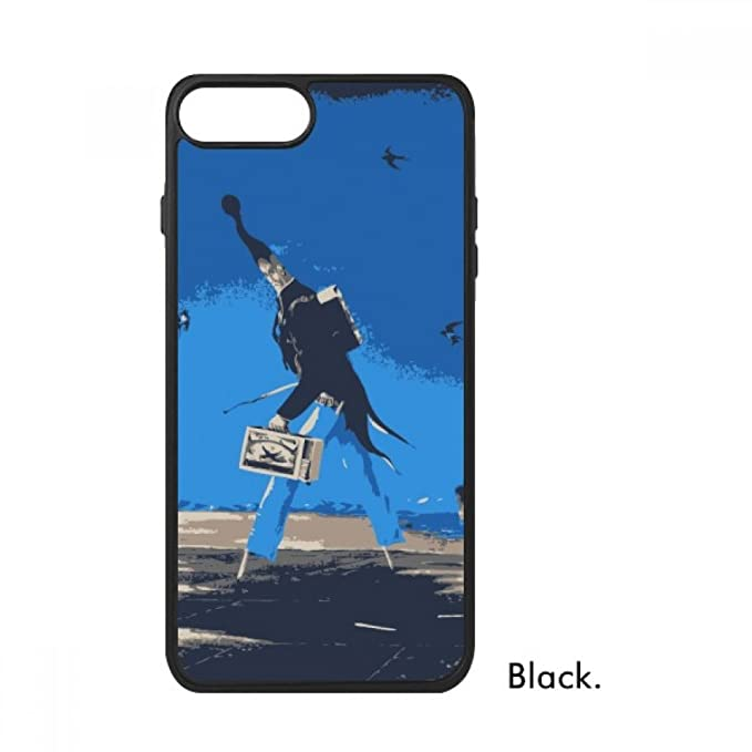Cartoon Sfondo Blu Grottesca Illustrazione Per Iphone 88 Plus Cases