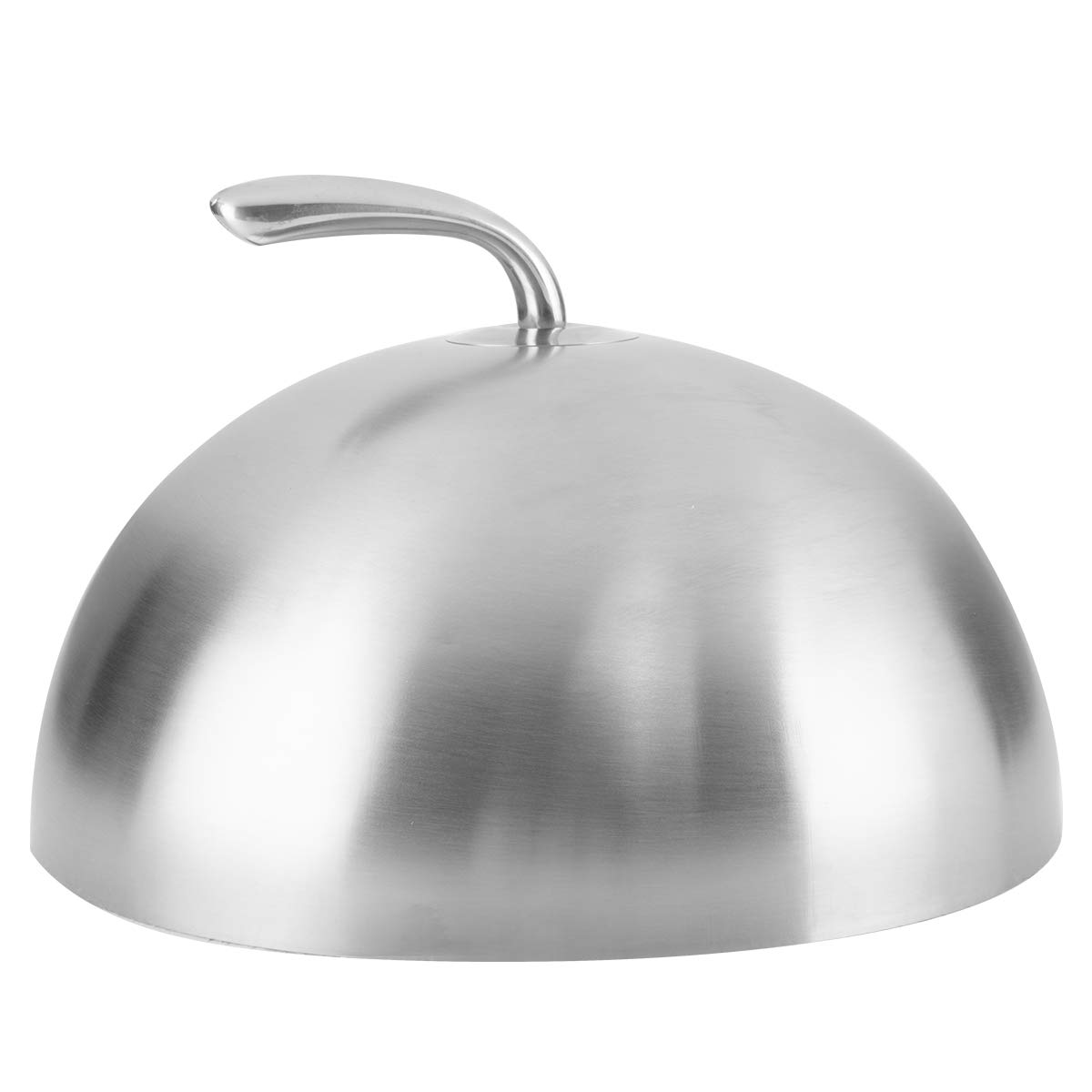 """onlyfire 11"""" Stainless Steel Steaming Cover Serving Food Cover with Handle for Kicthen, Griddle, Parties Cooking Indoor or Outdoor 51B3KKt62BIL"""