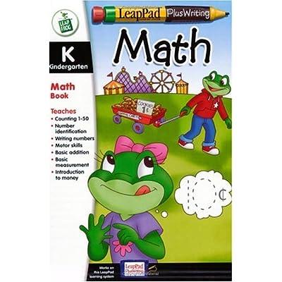 5Star-TD LeapPad Plus Writing Kindergarten Math Book Plus Software: Toys & Games