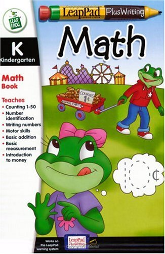 LeapPad Plus Writing Kindergarten Math Book Plus Software by 5Star-TD