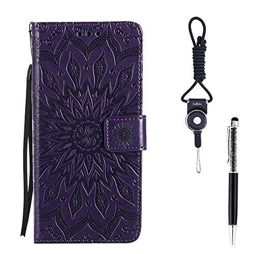 Wallet Flip Leather Case Cover For Xiaomi Mi 5 (Black) - 2