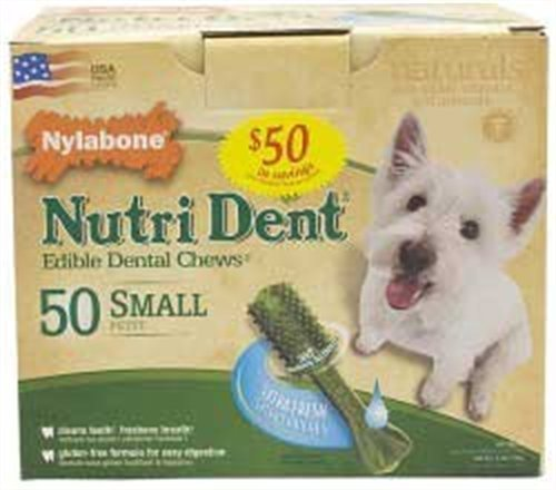 Nylabone Nutri Dent Extra Fresh, 50 Count Pantry Pack, My Pet Supplies