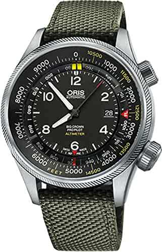 Oris Big Crown ProPilot Altimeter with Feet Scale 73377054134FS