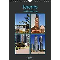 Toronto und Umgebung (Wandkalender 2019 DIN A4 hoch): Metropolregion Toronto (Monatskalender, 14 Seiten ) (CALVENDO Orte)
