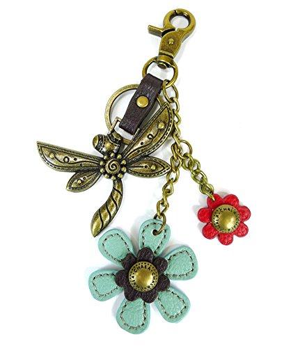 (Chala Purse Charm, Key Fob, keychain Decorative Accessories, Dragonfly &)