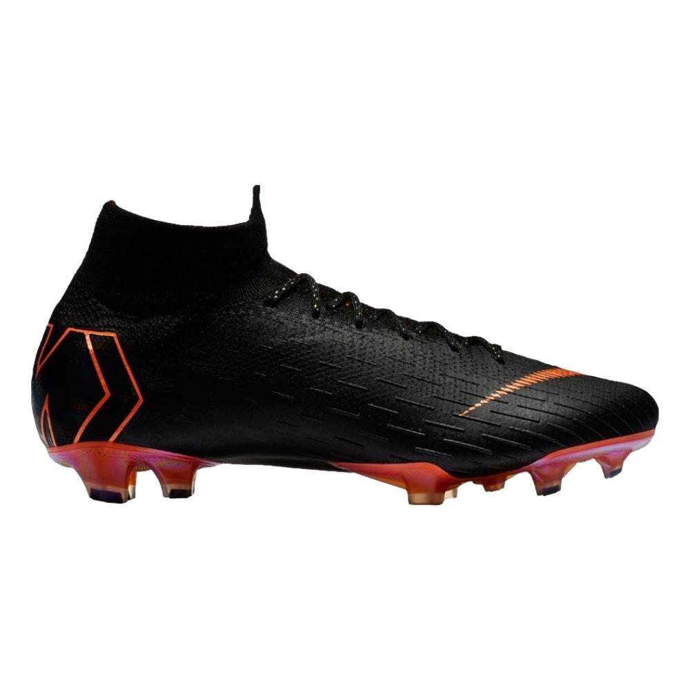 Mehrfarbig (schwarz Total Orange-w 081) Nike Unisex-Erwachsene Superfly 6 Elite Fg Fitnessschuhe