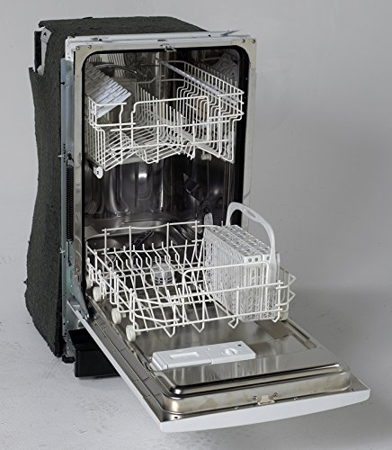 18'' Built-In Dishwasher Finish: Black