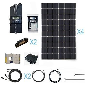 amazon com renogy 1200 watt monocrystalline solar cabin kit for rh amazon com
