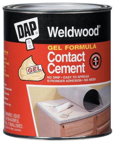 Dap 25316 Weldwood Gel Formula Contact Cement - Tan Gallon by DAP