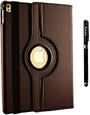 iPad Case 9.7 inch 2018/2017 Cases ipad air iPad air 2, inShang ipad Smart Cover iPad Stand + Auto Sleep/Wake, 360 Degree Rotating+Business Stylus Pen