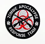 Zombie Hunting Apocalypse Response Team Iron on Patch