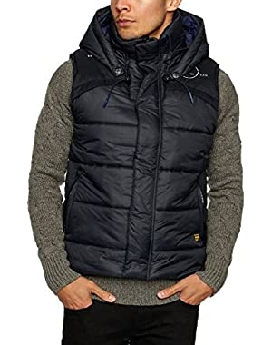 G Star Raw Black Whistler Hooded Vest Size XXXL $220