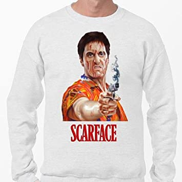 Positivos Sudaderas Jersey Camiseta Tony Montana Scarface - XXL: Amazon.es: Hogar
