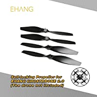 2 Pairs EHANG 8.5 Inch CW/CCW Self-locking Propeller for GHOSTDRONE 2.0 Black