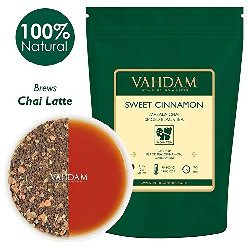 VAHDAM, Cinnamon Masala Chai Tea  | 100% NATURAL SPICES |