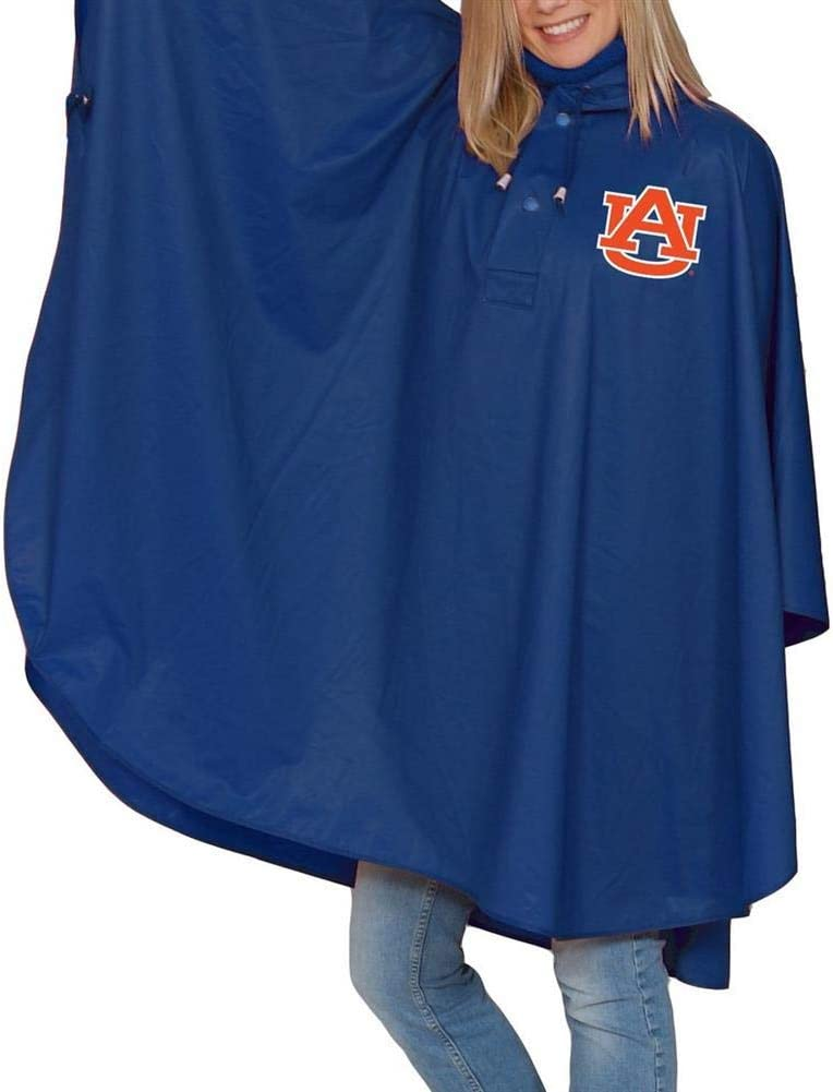 Storm Duds Auburn University Tigers Poncho Heavy Weight Adult Hooded Poncho