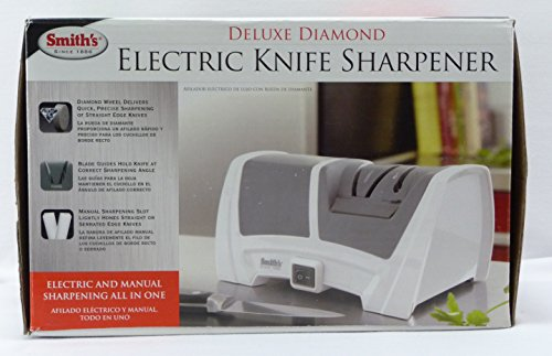 Smith's Deluxe Diamond Electric Knife Sharpener