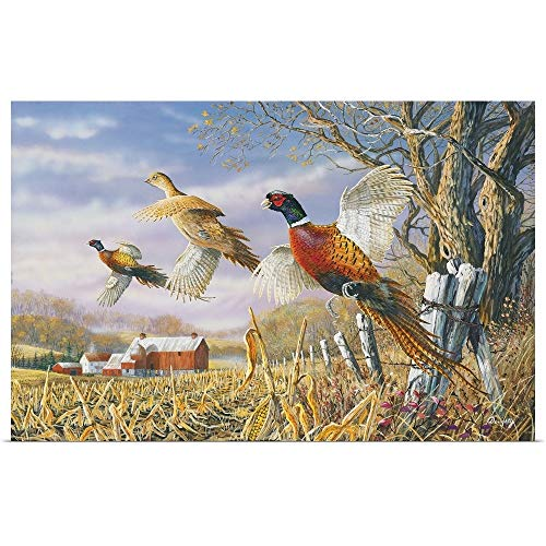 GREATBIGCANVAS Poster Print Entitled High Field Flush by Terry Doughty 18