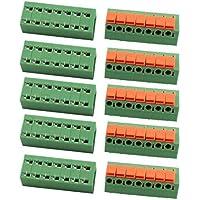 DealMux 10pcs KF142R 250V 15A Paso de 5,08