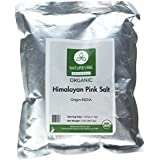 100% Natural & Healthy Himalayan Pink Salt (2lb) by Naturevibe Botanicals (Fine - Cooking Size)