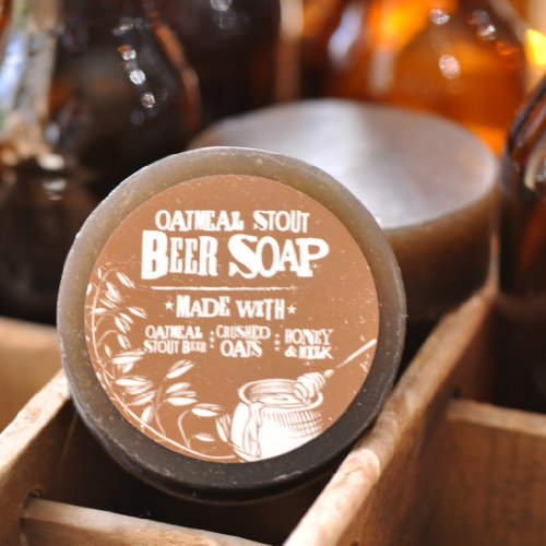 Beer Soap (Oatmeal Stout)