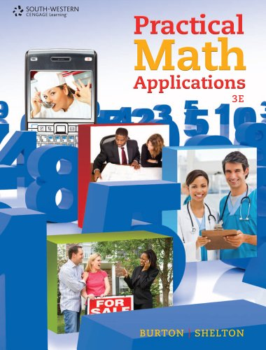 Bundle: Practical Math Applications, 3rd + CengageNOW Access Code