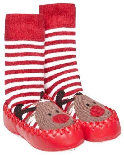 Amazon.com: JOJO maman bebe unisex Baby Slipper Calcetines ...