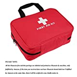 2-in-1 Portable Basic First Aid Kits - CE FDA Approved Survival Supplies for Home, Office, Car, Travel, Outdoors Emergency Preparedness