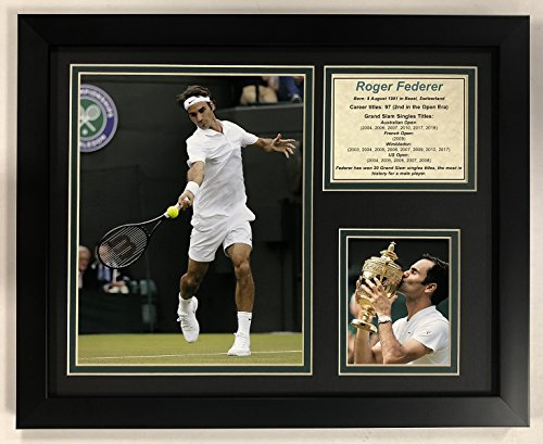 Legends Never Die Roger Federer - Framed 12