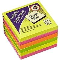 Snopake Sticky Notes - Notas Adhesivas (6 Unidades x 100 Hojas), Colores Surtidos