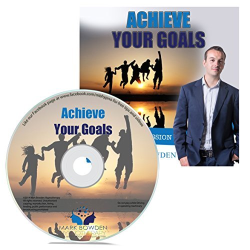 Price comparison product image Achieve Your Goals Self Hypnosis CD - Hypnotherapy CD to Get Motivated, Stay on Target and Make Your Dreams a Reality - Overcome Obstacles & Finally Succeed