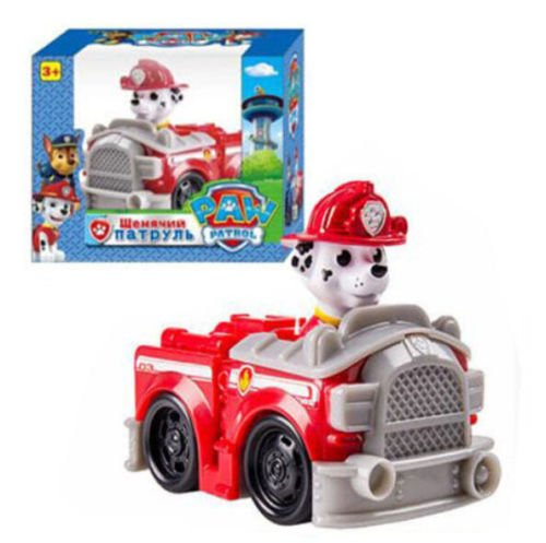 [New Paw Patrol Pup Dog Racer Character Figure Kids Children's Toy Gift (marshall)] (Video Of Dog In Costume)