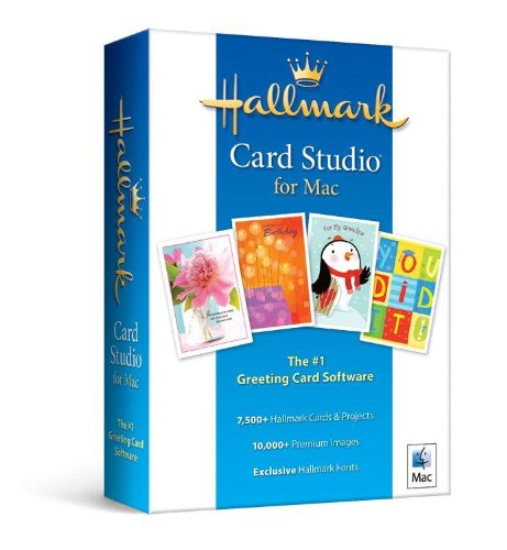Hallmark Card Studio for Mac[Compatible with macOS 10.11(El Capitan) and later including macOS Mojave] by Nova Development US