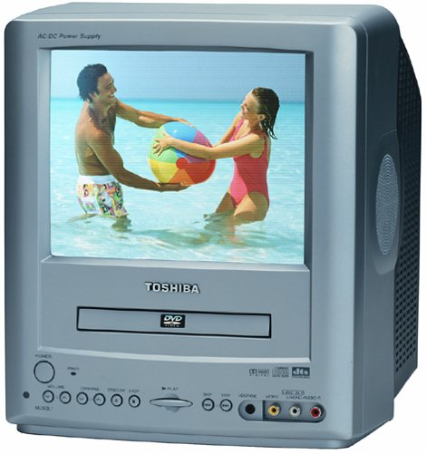 Toshiba MD9DL1 9-Inch AC/DC TV-DVD Combo