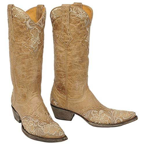 Old Gringo Women's Erin Western L640 Boot,Bone,8.5 B US (Old Gringo Women Boots)