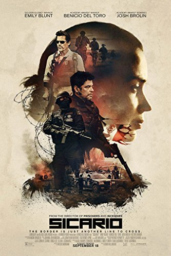 Sicario Style A Movie Poster