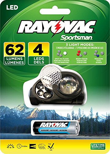 Rayovac Sportsman Headlight Batteries SE1WHLT BA