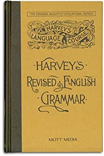 Harvey's Revised English Grammar (Harvey's Language Course) (0880620420) | Amazon price tracker / tracking, Amazon price history charts, Amazon price watches, Amazon price drop alerts