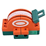 BQLZR 32A 2 Pole Double Throw DPDT Knife Safety Disconnect Switch Copper Plated Zinc Type 1