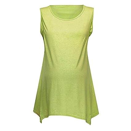 b8bf40a5b952d Amazon.com: ❤ Mealeaf ❤ Women Pregnant Floral Print Vest ...
