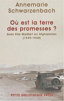 Où est la terre des promesses ? par Schwarzenbach
