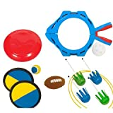 Eastpoint 5-in-1 Party Pack (Majik Catch, Majik Toss, Lawn Darts, Flying Disc, Splash Ball) by 5.11
